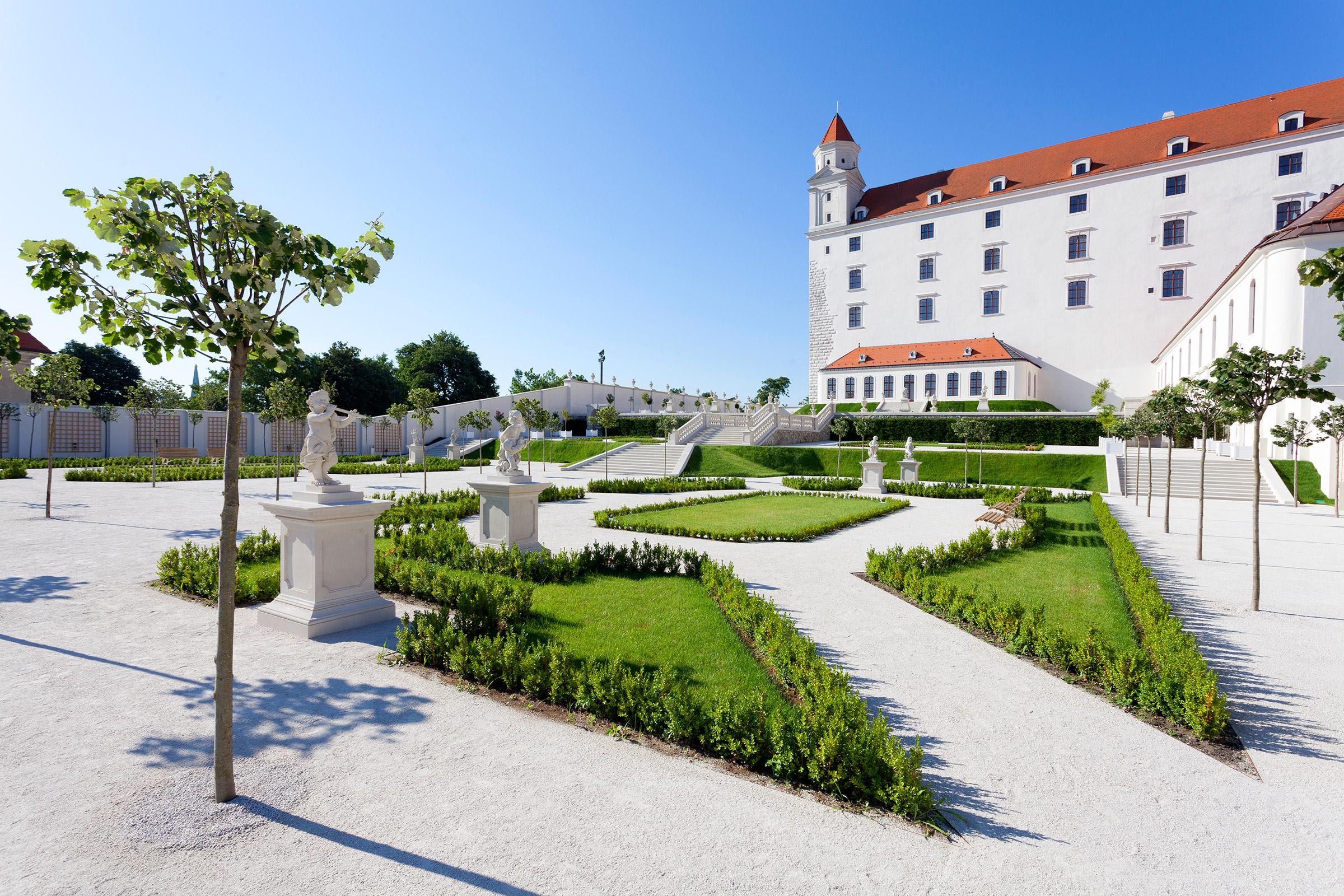 Baroková záhrada - Bratislavský hrad